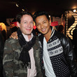 Eric Wilson and Prabal Gurung