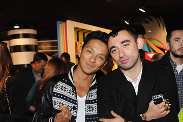 Prabal Gurung Nicola Formichetti Barneys New York Celebrates The Launch Of Gaga's Workshop - Inside