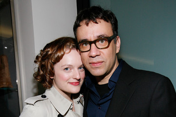 Elisabeth Moss Fred Armisen Barneys New York Unveils 2009  Holiday Window Celebrating 35 Years of SNL