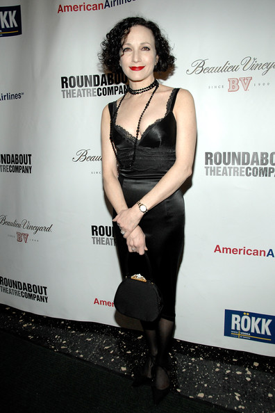 Bebe Neuwirth Little Black Dress