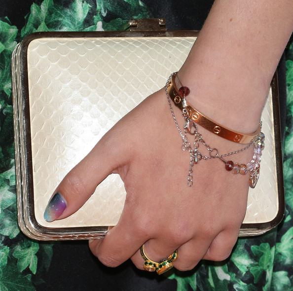 Bella Thorne Hard Case Clutch