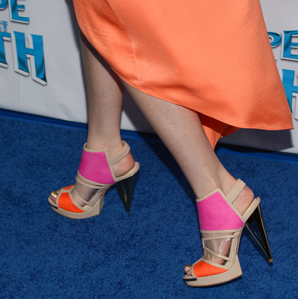 Bella Thorne Evening Pumps