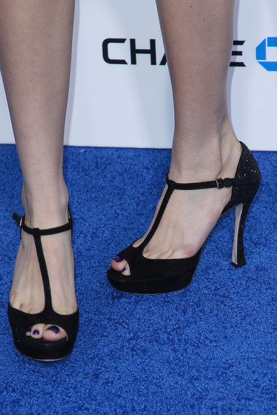 Bella Thorne Peep Toe Pumps