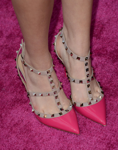 Bella Thorne Studded Heels