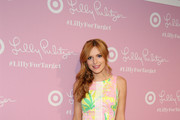 Bella Thorne Print Dress