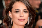 Berenice Bejo Dangling Diamond Earrings