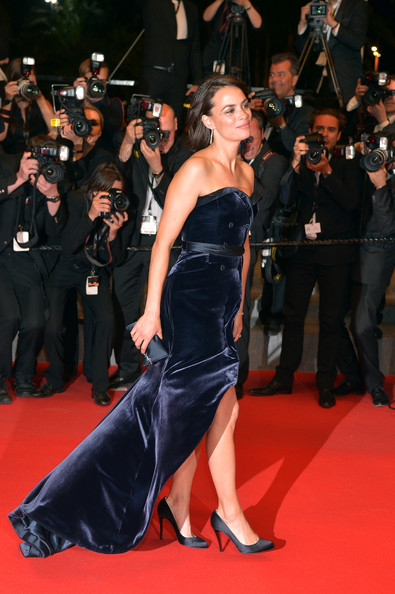 Berenice Bejo Strapless Dress
