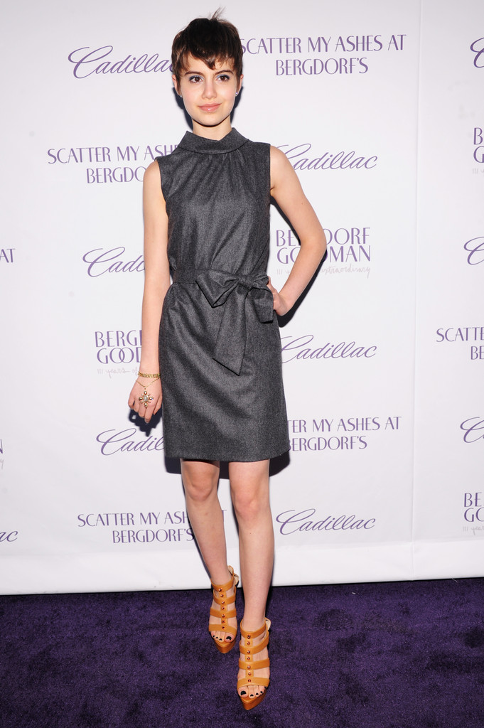 "Actress Sami Gayle attends Bergdorf Goodman after party for special screening of ""Scatter My Ashes at Bergdorf?s"" in celebration of their 111th Anniversary on September 12, 2012 in New York City."