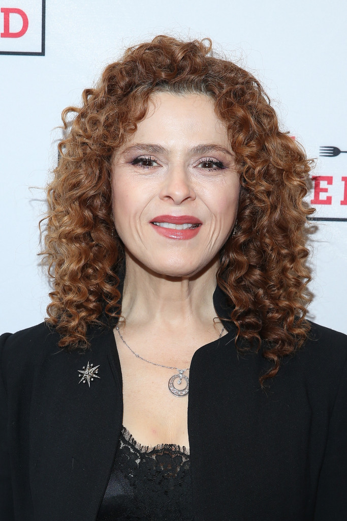 Bernadette Peters Medium Curls Medium Curls Lookbook