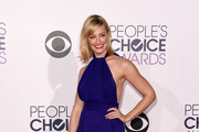 Beth Behrs Halter Dress