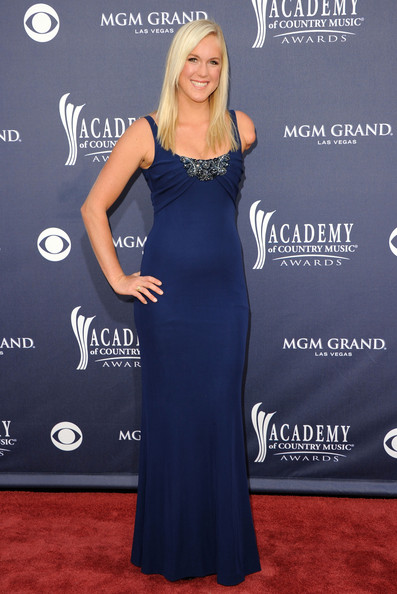 Bethany Hamilton Evening Dress [blue,flooring,dress,shoulder,beauty,carpet,electric blue,gown,red carpet,joint,arrivals,bethany hamilton,academy of country music awards,red carpet,nevada,las vegas,mgm grand garden arena]