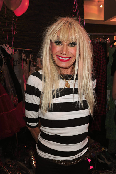 Betsey Johnson - Backstage - Spring 2013 Mercedes-Benz Fashion Week