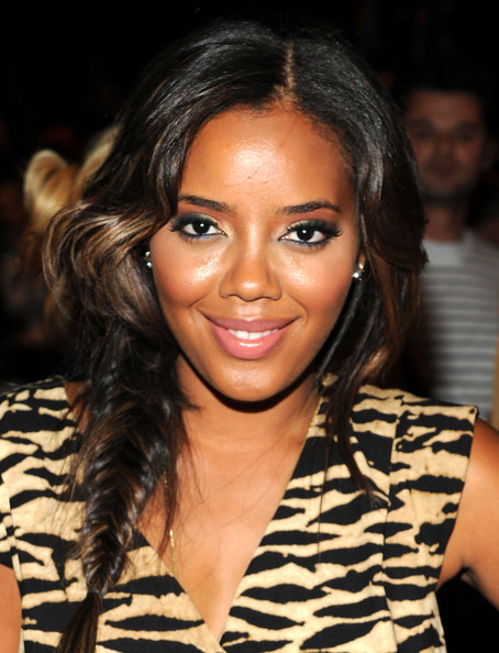 More Pics of Angela Simmons Long Braided Hairstyle (1 of 5) - Angela Simmons Lookbook - StyleBistro