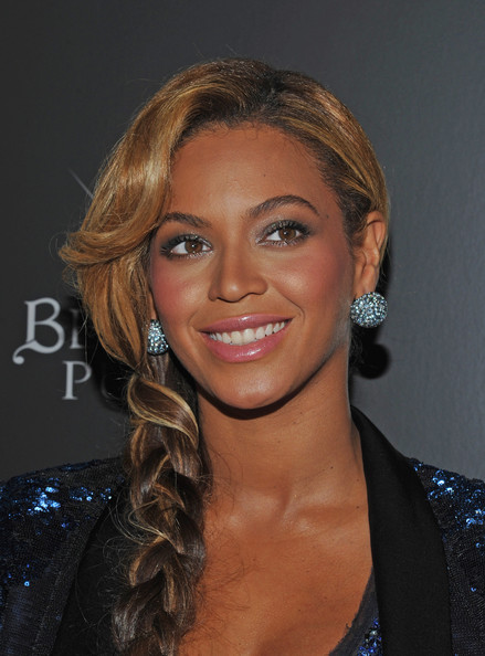 Beyonce Knowles Gemstone Studs