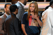 Beyonce Knowles Leather Pants