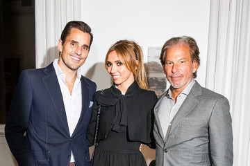 Bill Rancic Giuliana Rancic Restoration Hardware Celebrates the Opening of 'RH Chicago - The Gallery at the Three Arts Club'