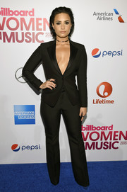 Demi Lovato managed to look super sexy in a suit during Billboard's Women in Music event.