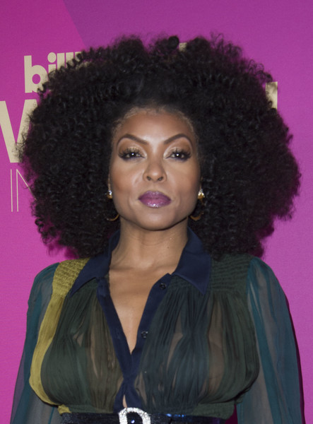 Taraji P. Henson attended the 2017 Billboard Women in Music event rocking this afro!