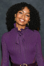 Yara Shahidi attended Black Girls Rock! 2017 wearing her hair in an afro.