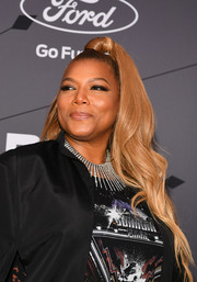 Queen Latifah rocked a perfectly styled half-up 'do at the 2018 Black Girls Rock! event.