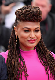 Ava DuVernay attended the Cannes Film Festival screening of 'BlacKkKlansman' wearing her signature dreadlocks.