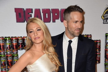 Blake Lively Ryan Reynolds 'Deadpool' Fan Event