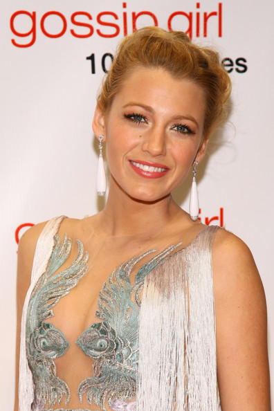 Blake Lively Braided Bun