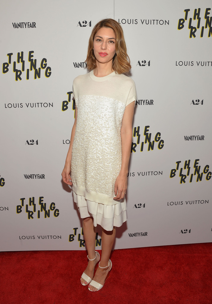 Sofia Coppola's Chic White on White Style