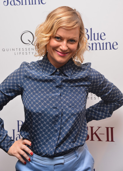 More Pics of Amy Poehler Button Down Shirt (2 of 2) - Amy Poehler Lookbook - StyleBistro