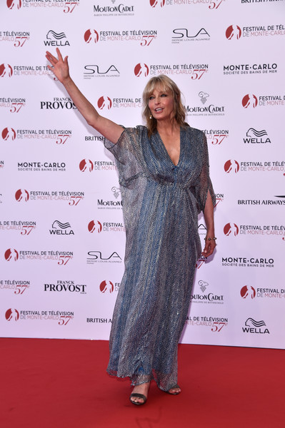 Bo Derek Print Dress