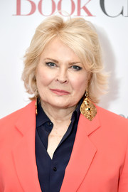 Candice Bergen wore her hair in a layered razor cut at the New York screening of 'Book Club.'