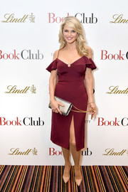 Christie Brinkley wowed in a figure-flaunting cold-shoulder dress by Cushnie et Ochs at the New York screening of 'Book Club.'