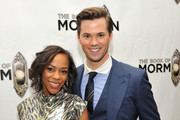 Andrew Rannells and Nikki M. James Photo