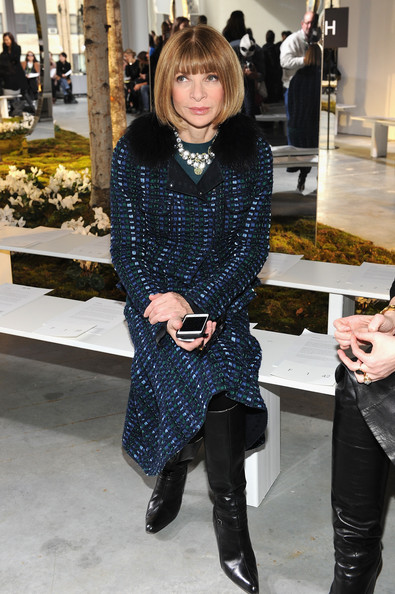 More Pics of Anna Wintour Tweed Coat (1 of 2) - Anna Wintour Lookbook - StyleBistro