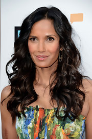 Padma Lakshmi looked totally ravishing with big and bold waves at the Bravo Media Event.