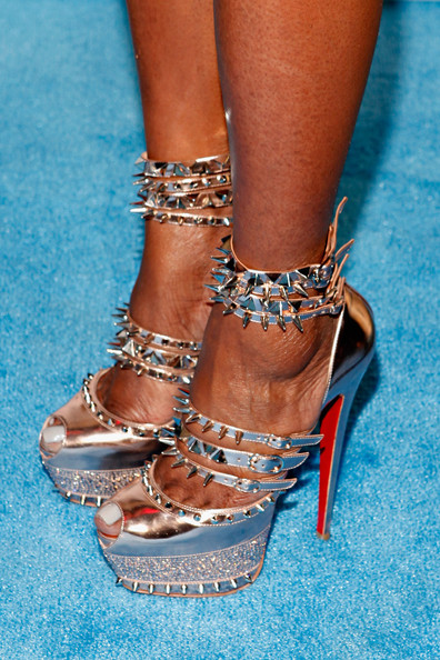 More Pics of NeNe Leakes Strappy Sandals (1 of 5) - NeNe Leakes Lookbook - StyleBistro