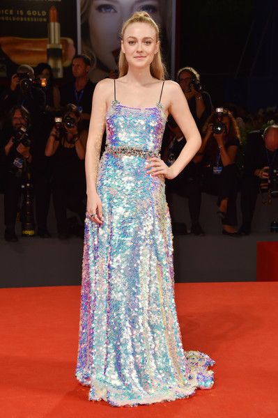 Dakota Fanning in Miu Miu
