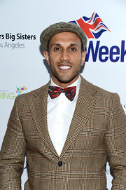 Stephen Uppal sported a plaid-on-plaid look with this suit and bowtie combo at the BritWeek Celebtrates Downton Abbey event.