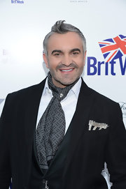 Martyn Lawrence-Bullard's spiked 'do at the BritWeek Celebrates Downton Abbey event was more cute than edgy.