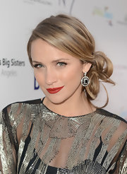 Shantel VanSanten looked breathtaking at the BritWeek Celebrates Downton Abbey event with these pinned-up curls.