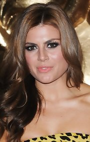 Zoe Hardman's lashes were a mile high at the British Academy Games Awards.