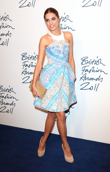 Amber Le Bon in Peter Pilotto