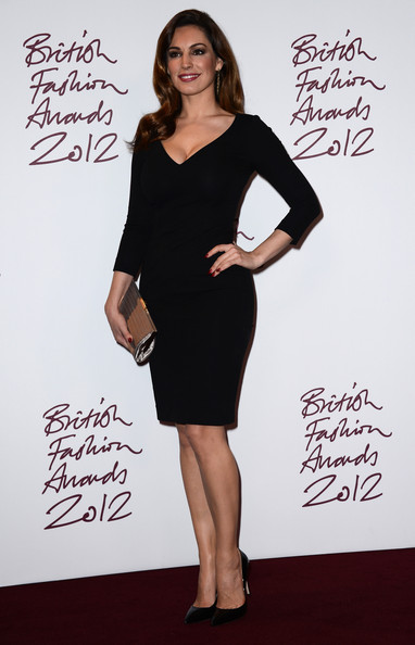 Kelly Brook at the 2012 British Fashion Awards