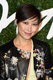 Sandra Choi wore a casual and cool pixie to the British Fashion Awards.