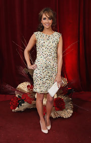 Actress Sanmia Smith showed off  her glamorous style while hitting the red carpet at the British soap awards.