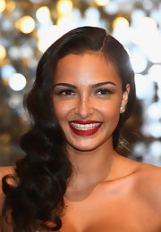 Anna Shaffer looked oh-so-lovely with this retro hairstyle at the British Soap Awards.