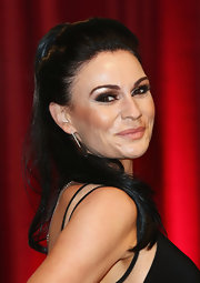 Lucy Pargeter's ponytail at the British Soap Awards had a sweet retro feel.