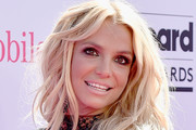 Britney Spears Long Wavy Cut