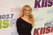 Britney Spears One Shoulder Dress