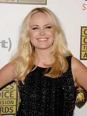 Malin Akerman's pretty blonde waves totally looked girl-next-door chic at the Critics' Choice Television Awards.